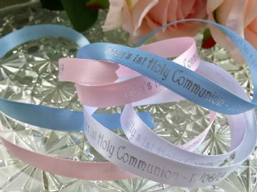 First Holy Communion Printed Ribbon